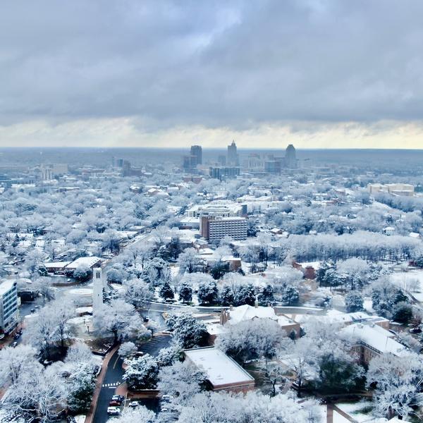 Raleigh Winter Wonderland