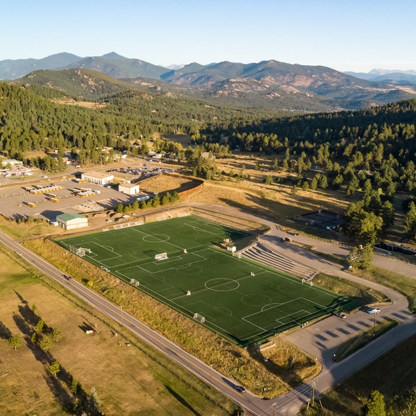 Synthetic Turf Field, Evergreen, CO