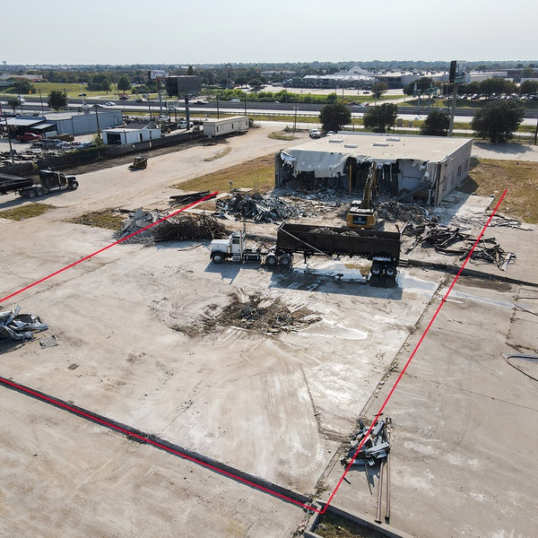 Construction Site (Aerial Photo)