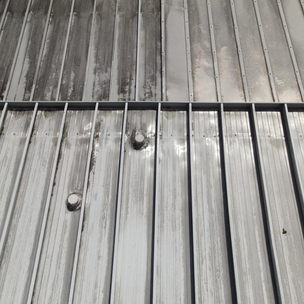 Roof Inspection Metal Building