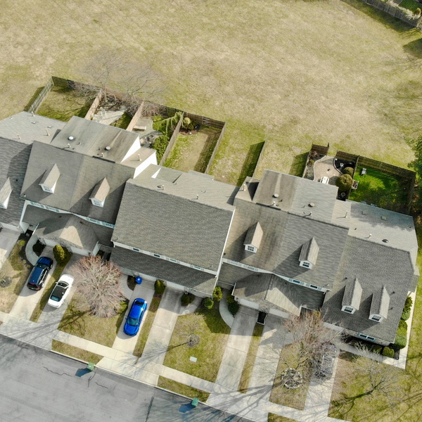 Townhouse Aerial #1