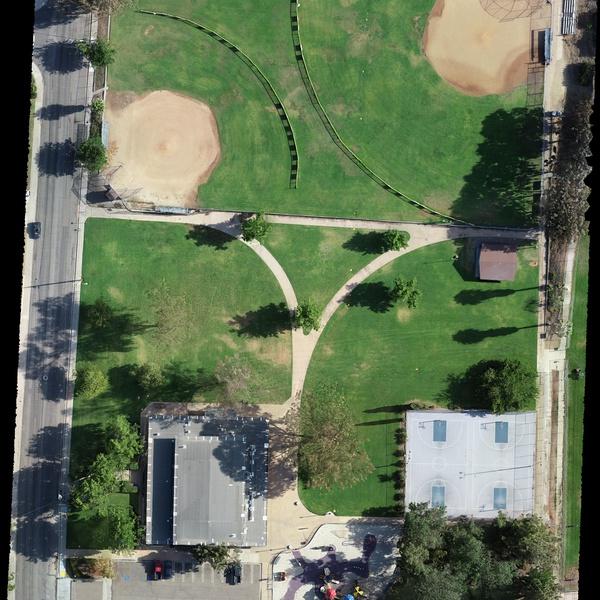 City Park Mapping Survey Orthomosaic