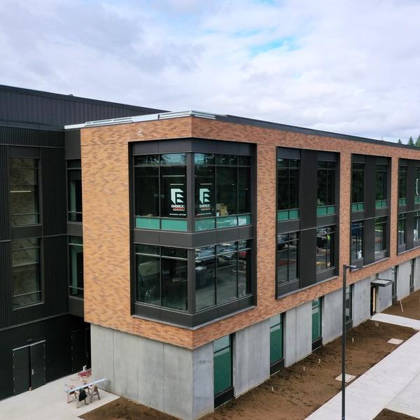 EPS Admin - construction progress aerials