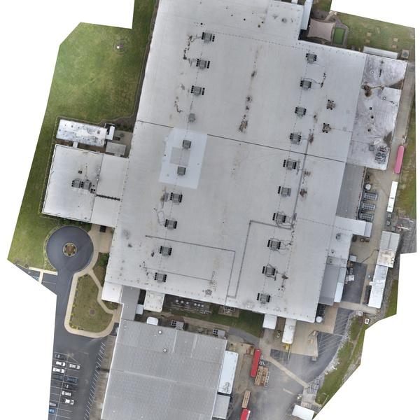 Manufacturing Plant Orthomosaic
