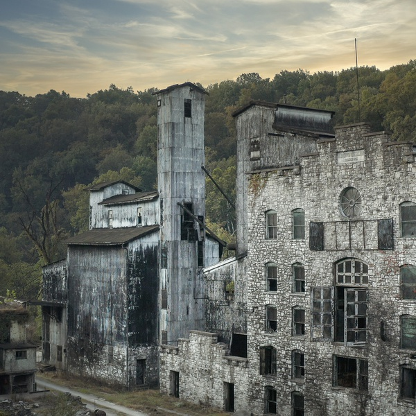 Real Estate Photography Frankfort, Kentucky.  The Old Crow Distillery