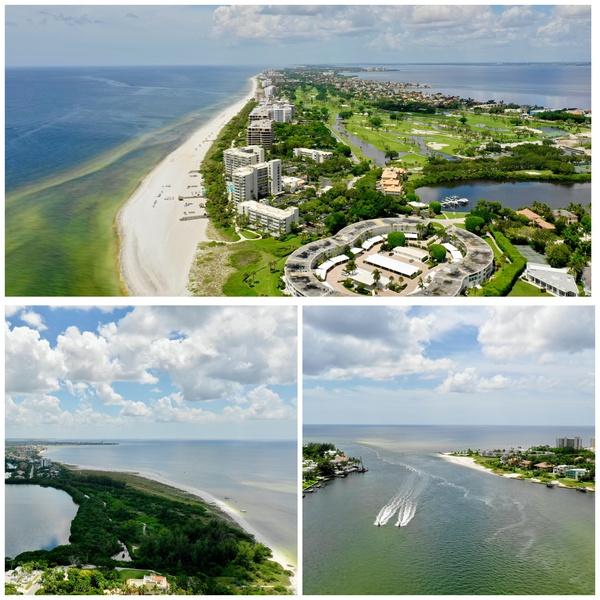 Example of Red Tide Imaging - Summer 2019 - Sarasota