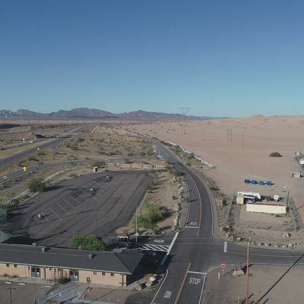 Imperial Sand Dunes (plus Interstate 8) - Phil Scott