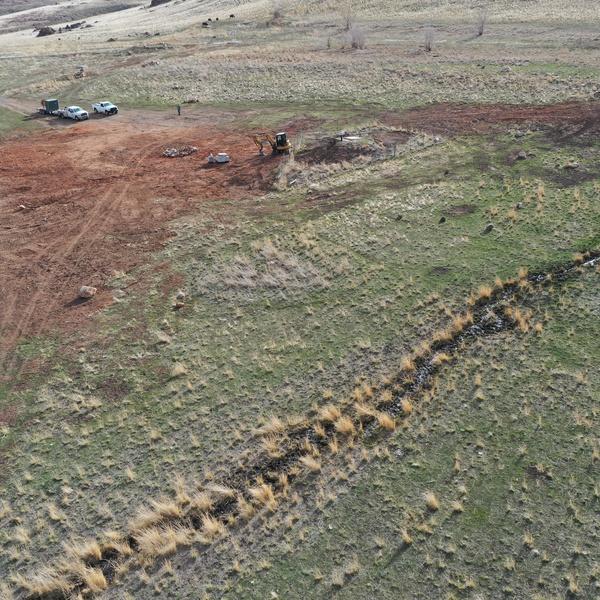 Construction Area on Antelope Island