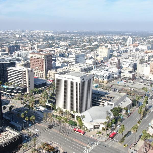 International City Bank, Long Beach 350 feet