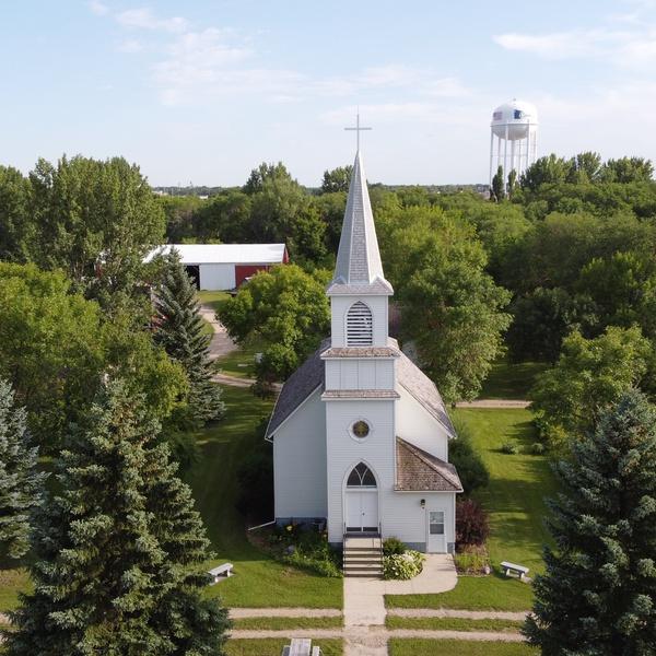 Heritage Village Photoshoot Church