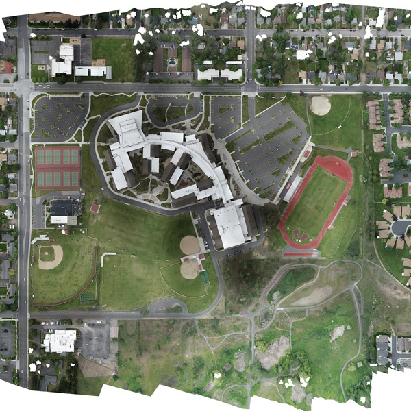 Ferris High School Ortho Map