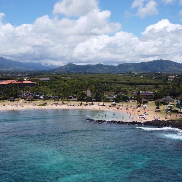 Poipu beach Hawa'i