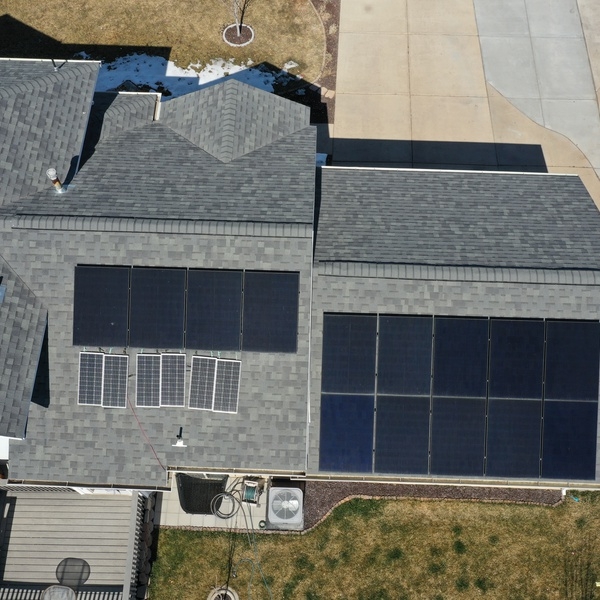 Solar Panel Install Completed