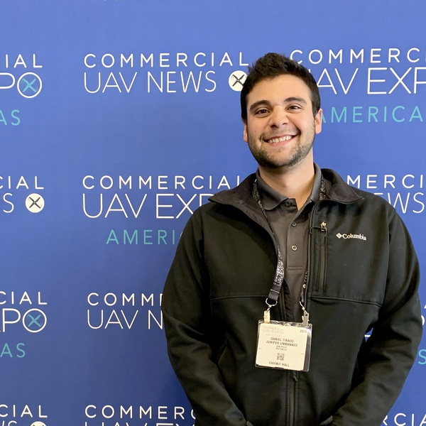 At the Commercial UAV Expo in Las Vegas