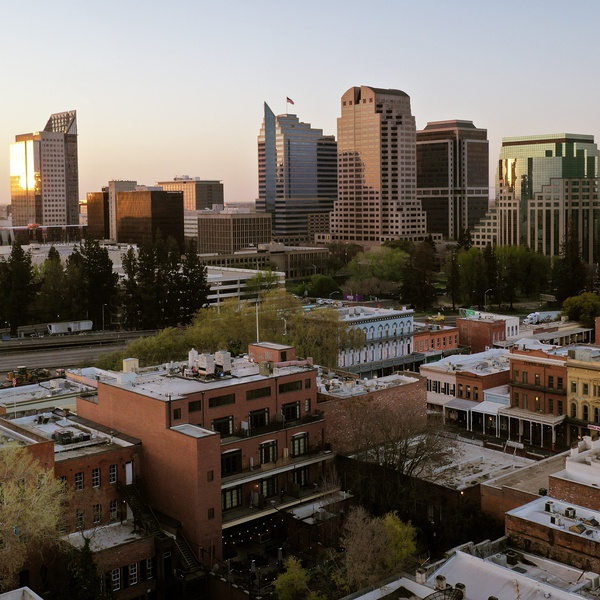 Sacramento City Sunrise